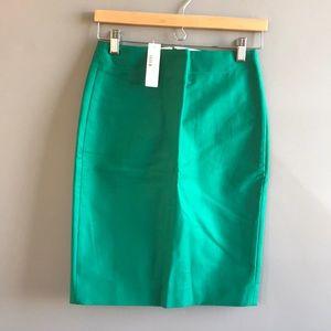 Jcrew cotton no.2 pencil skirt